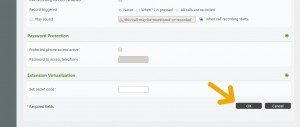 buzon de voz telsome - click en ok guardar