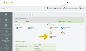 telsome cuenta cliente configuracion avanzada extension voicemail greetings