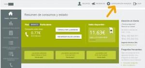 telsome cuenta cliente inicio configuracion avanzada