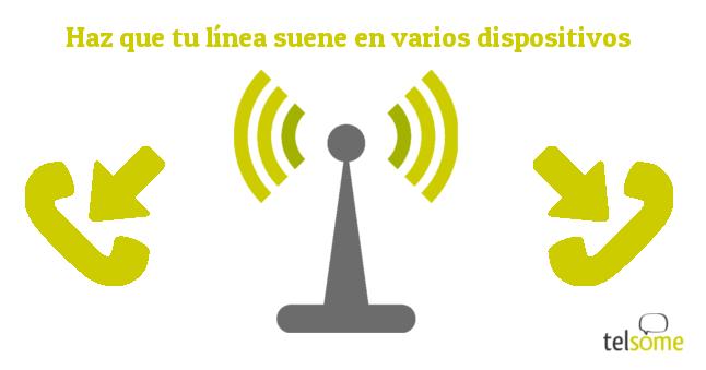 TELSOME llamadas en varias extensiones