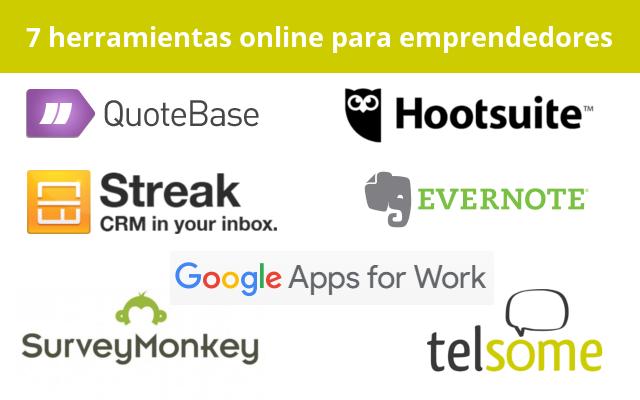 7 herramientas online para emprendedores
