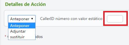 centralita virtual Telsome alterar caller ID valor