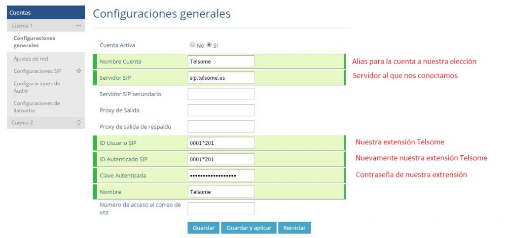 manual configuracion grandstream gxp 1610 1625 configuraciones generales telefonia ip telsome