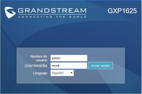 manual configuracion grandstream gxp 1610 1625 telefonia ip telsome