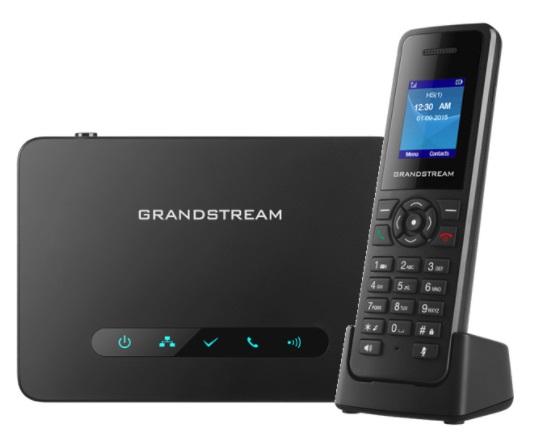 grandstream DP720 con estacion base DP750 inalambricos telefonia ip telsome