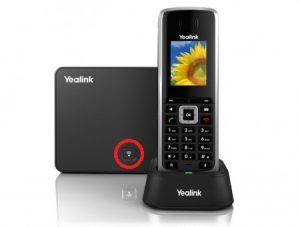 resetear a valores de fábrica teléfono IP yealink w52P