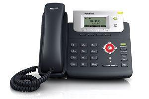 resetear telefono yealink t a valores de fábrica