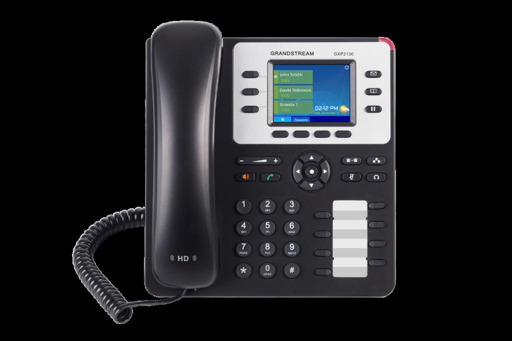 teléfono IP grandstream GXP2130 operadoras telefonía IP