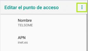 movil telsome activar 4g android empresas 6 apn inet puntos