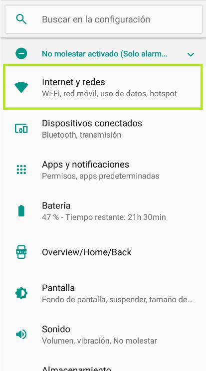 movil telsome activar 4g android empresas