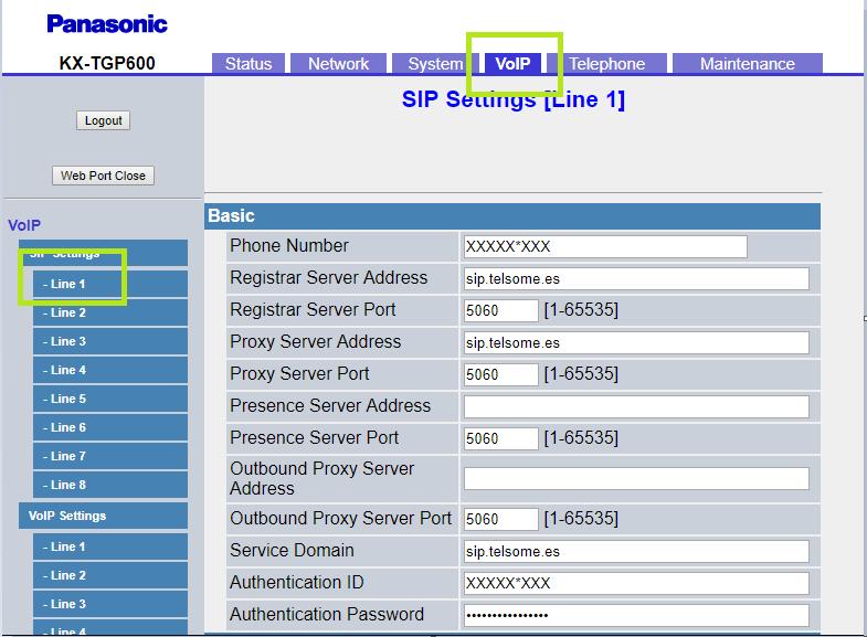 1 manual configuracion Panasonic KX TGP600 telefonia empresas telsome