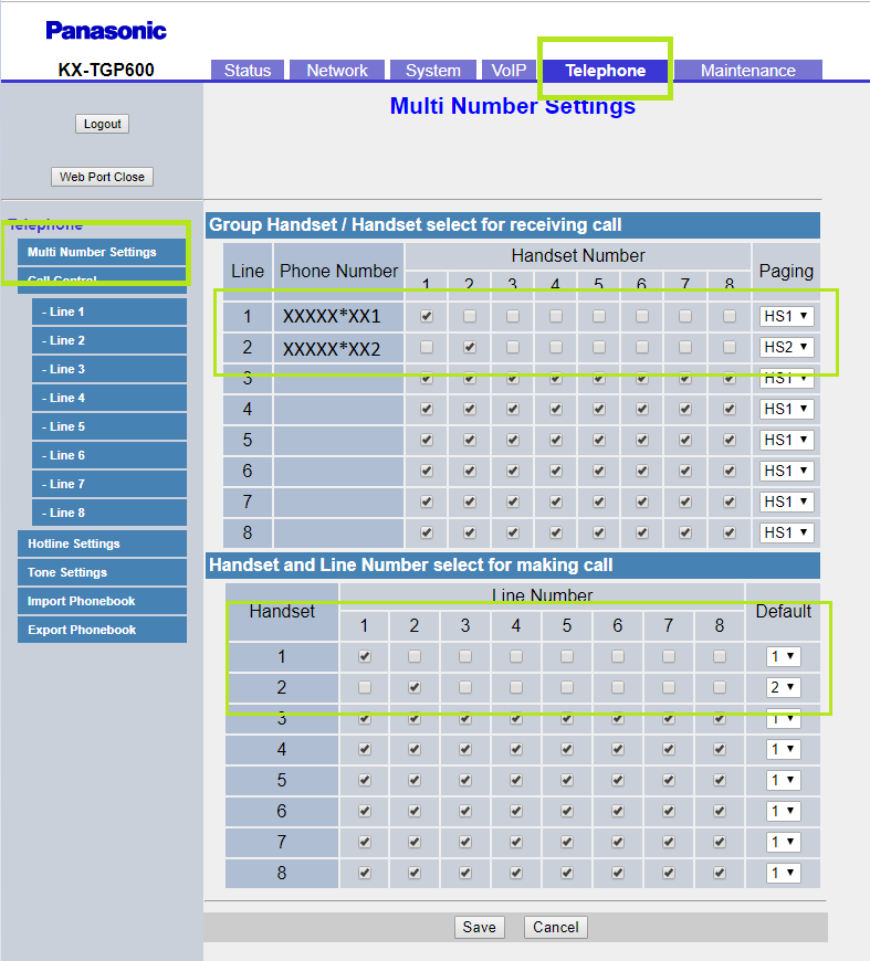 6 manual configuracion Panasonic KX TGP600 telefonia empresas telsome
