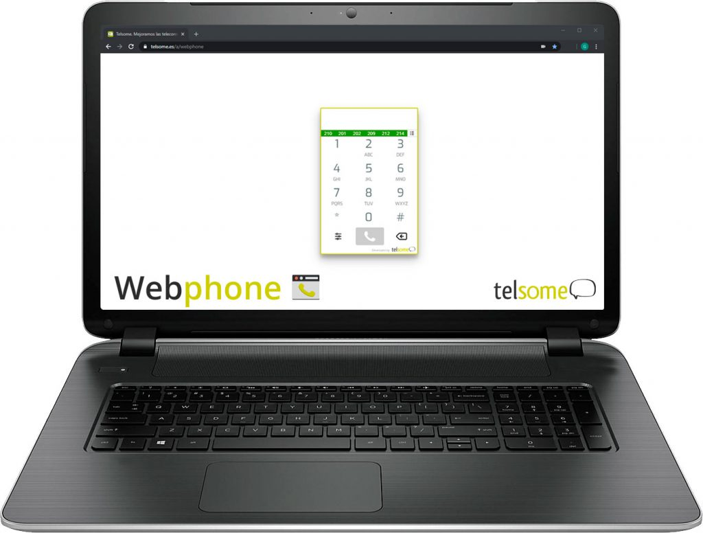 teléfono IP telsome telefonia voz sobre ip voip